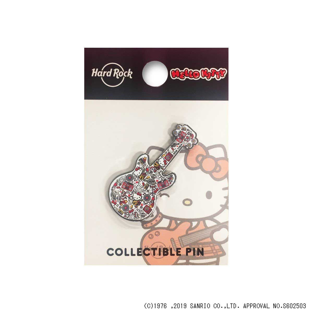 Hello Kitty Collage Guitar Pin 2019