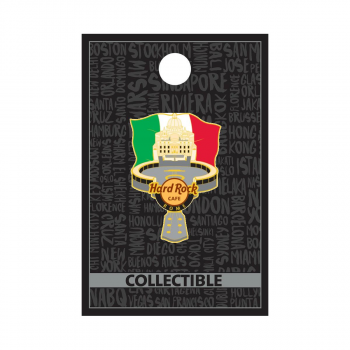 Rome Monument Flag Pin