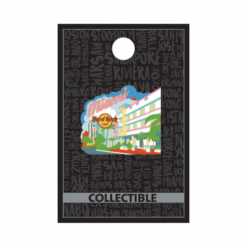 Miami Deco District Pin