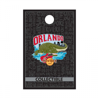 Orlando Alligator with Guitar Pin