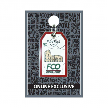 Rome Luggage Tag Pin