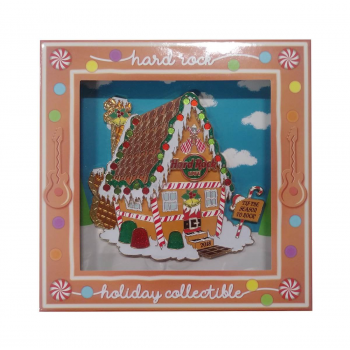 Jumbo Gingerbread House Pin