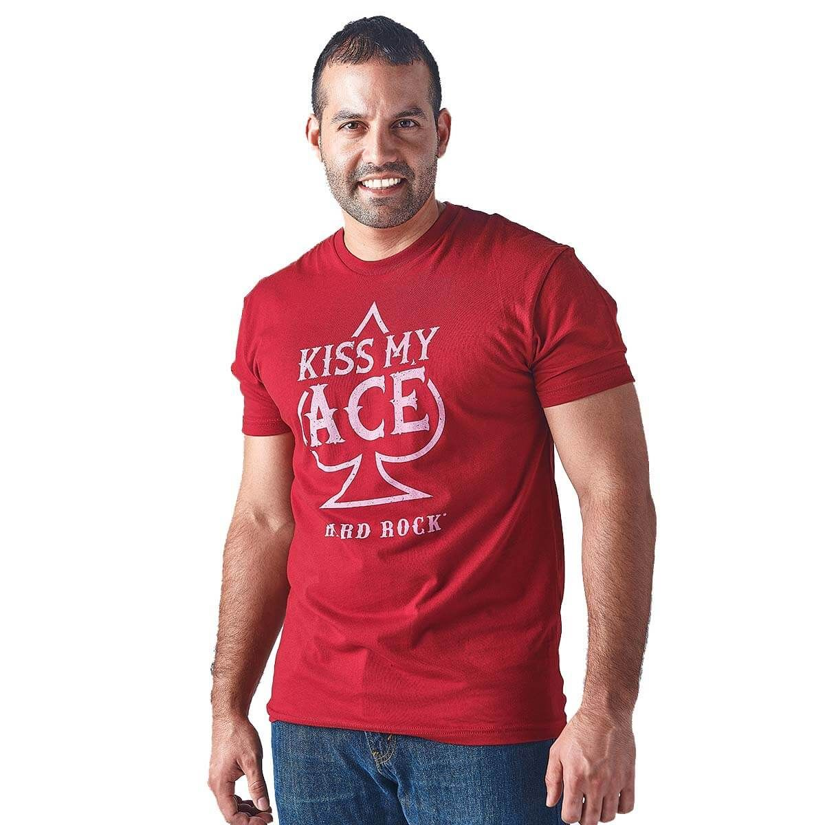 Men's Casino Kiss My Ace Tee