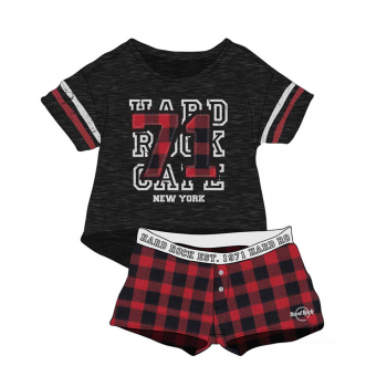 Women's Plaid 71 Sleep Set