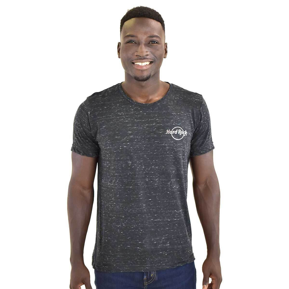 Men's Heather Gunmetal Grey Logo Tee