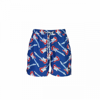 Boy's Guitar Board Shorts