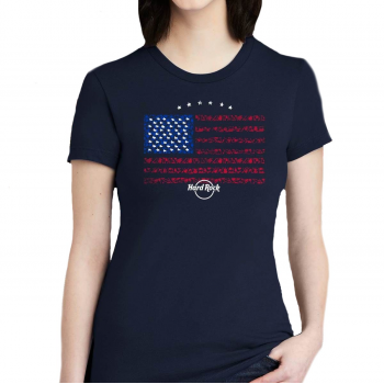 Women's Limited Edition USA Flag Tee