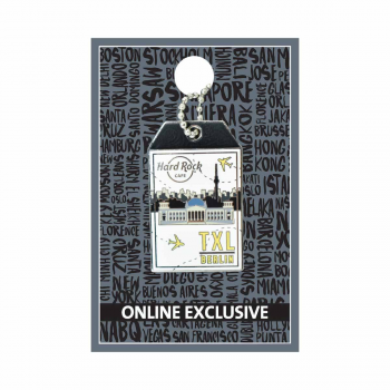 Berlin Luggage Tag Pin