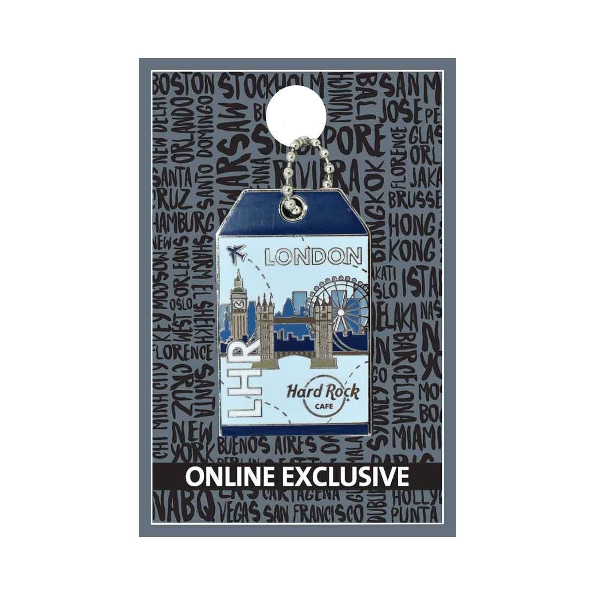 London Luggage Tag Pin