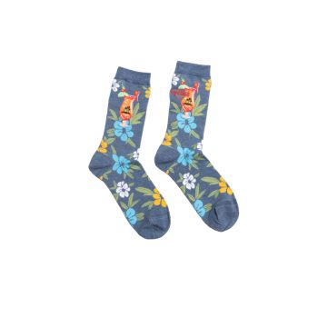 Hard Rock Hibiscus Socks