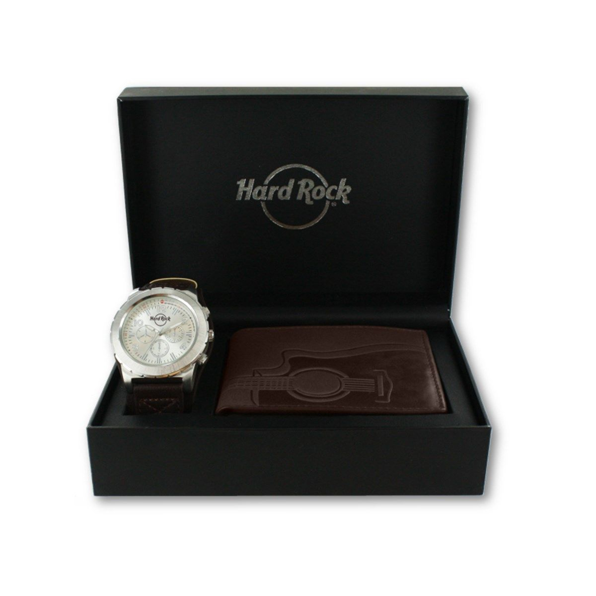 Men's Watch and Wallet Boxed Set Brown