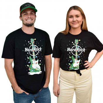 Unisex Hard Rock Holiday Guitar Tee 2019