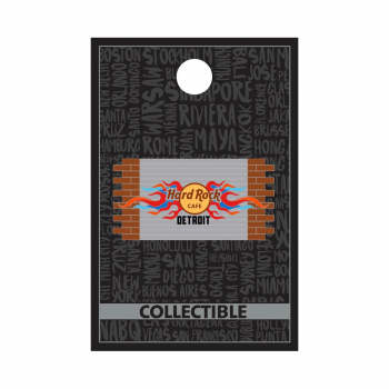 Detroit Core Brick Wall Pin