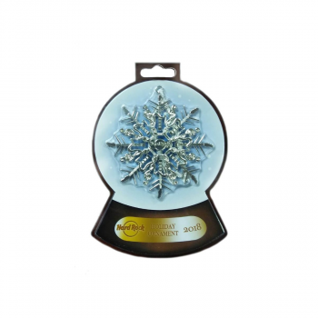 Shiny Snowflake Ornament 2018
