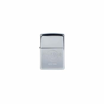Zippo Lighter Black Chrome