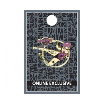 Twisted Circus Trapeze Girl Pin