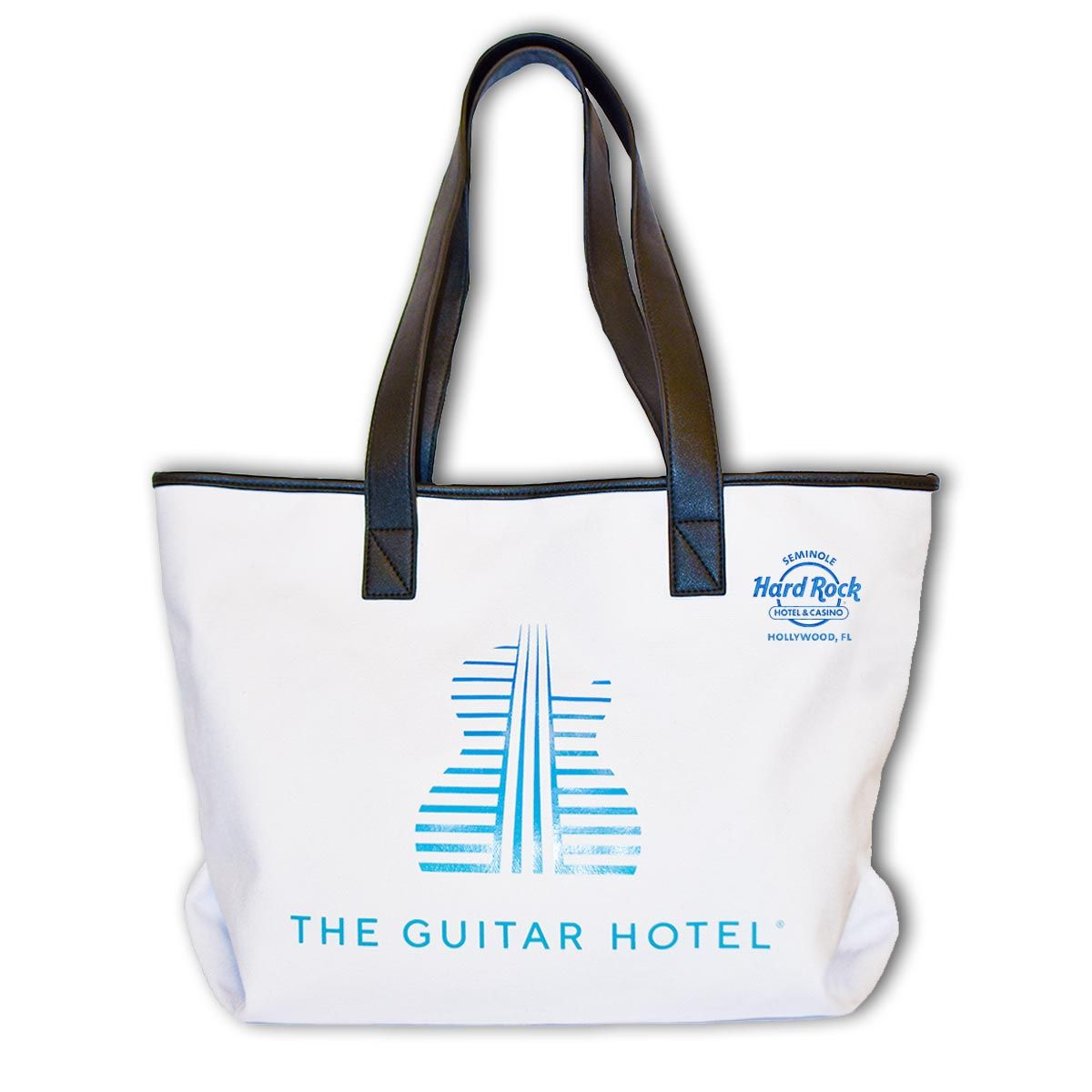 Hollywood Guitar Hotel Tote