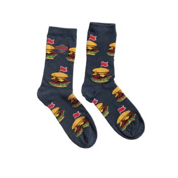 Legendary Repeat Burger Socks