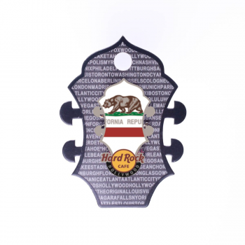 Core Headstock Flag Pin