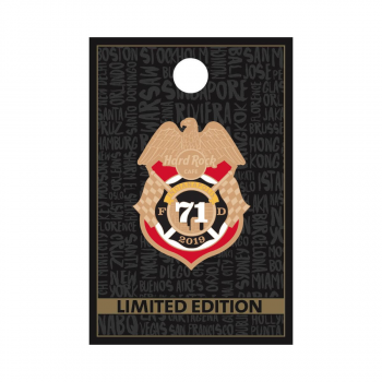 Indianapolis Fire Department Badge Pin
