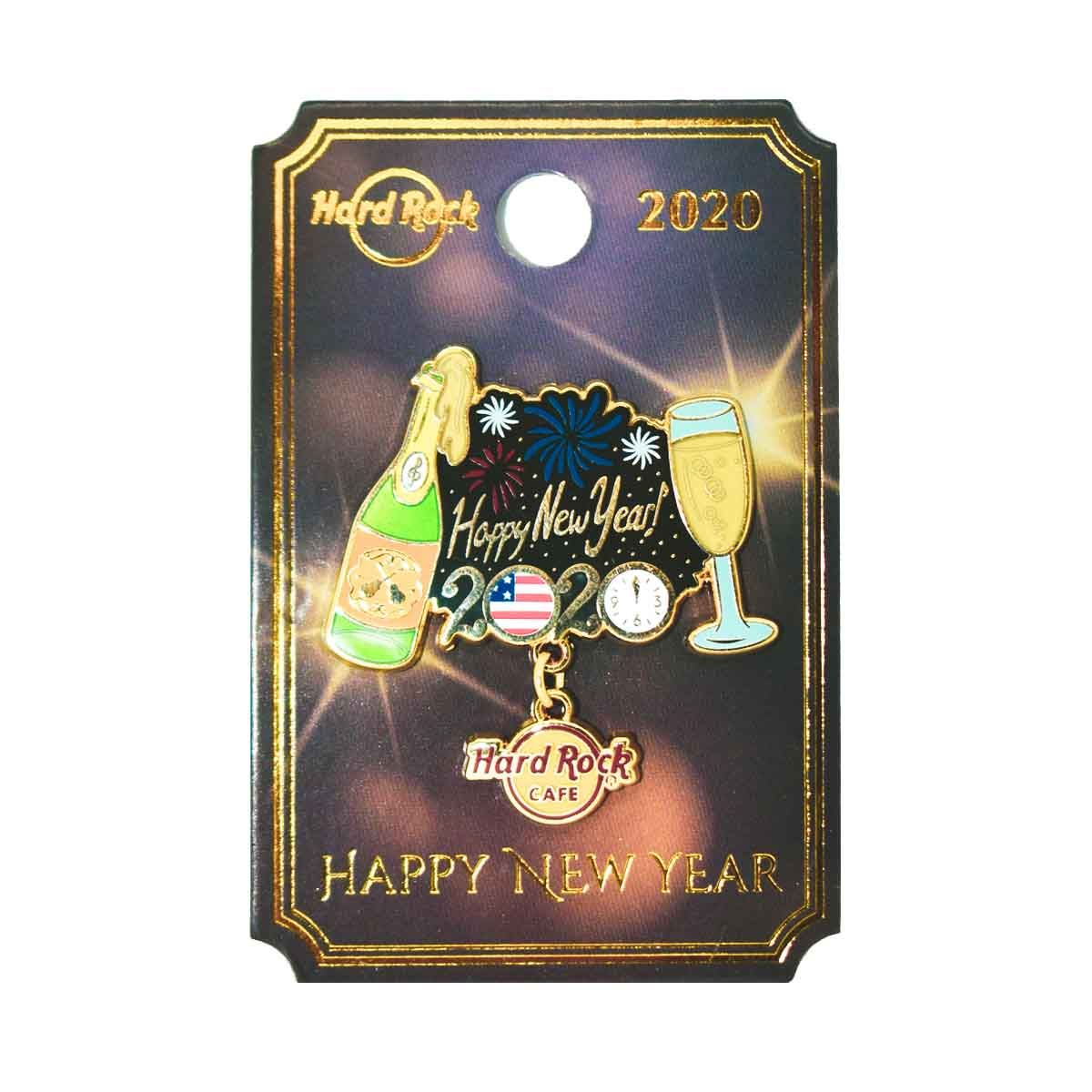 New Years Celebration Pin 2020