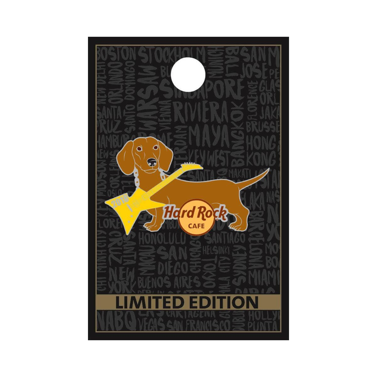 Dog Series Pin 2018