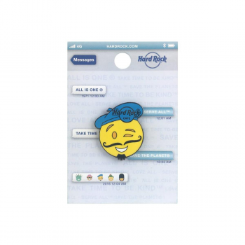 Paris Artist Emoji Pin