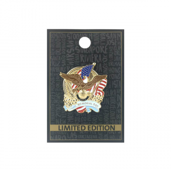 Memorial Day Eagle Pin 2017