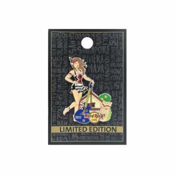 New Zealand Pinup Girl Pin