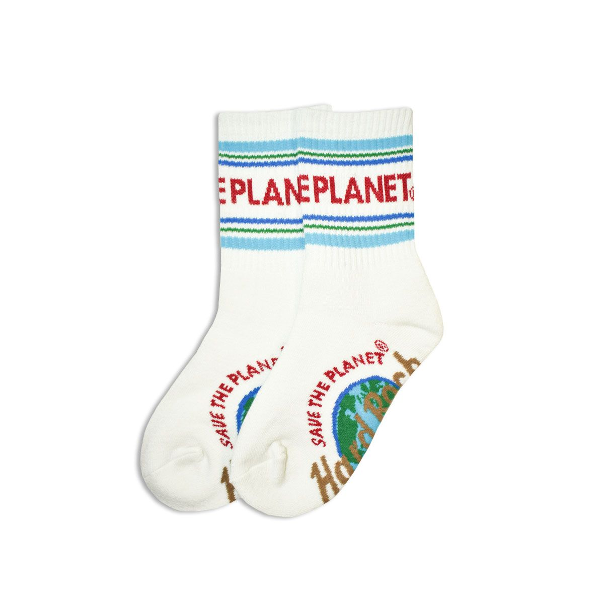 Youth Save The Planet Crew Sock