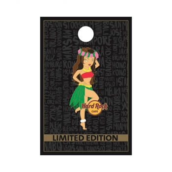 Tiki Girl 2 Pin