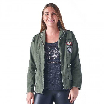 Women's Laura Be Army Jacket