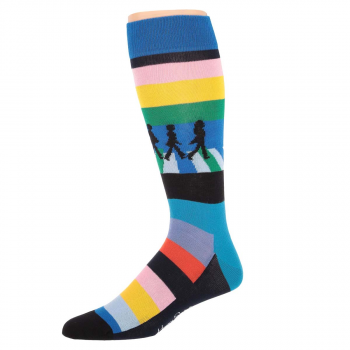 Beatles Legends Crossing Sock