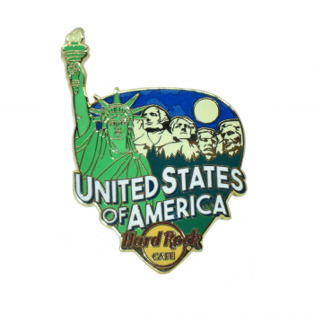 Country Greetings From Pin USA
