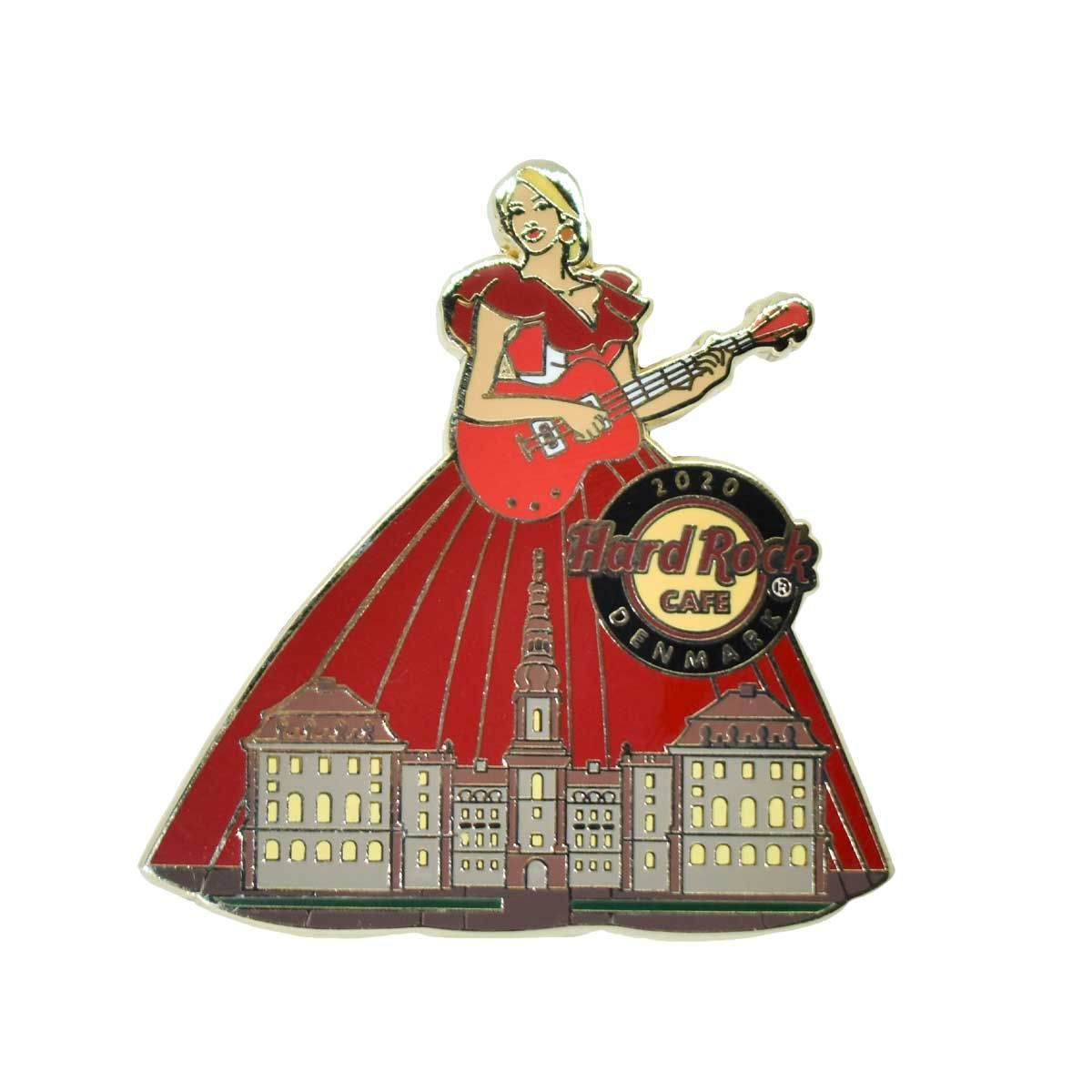 Cityscape Gown Pin Denmark