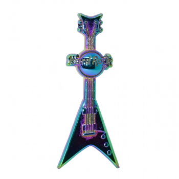 Rainbow Plated Guitar Pin #1