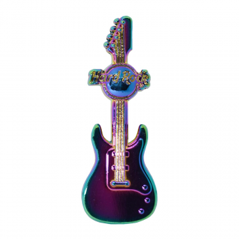 Rainbow Plated Guitar Pin #3