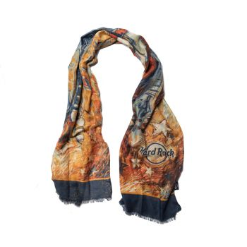 Painted Guitars Scarf