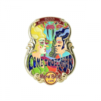 Lyric Series Come Together Pin
