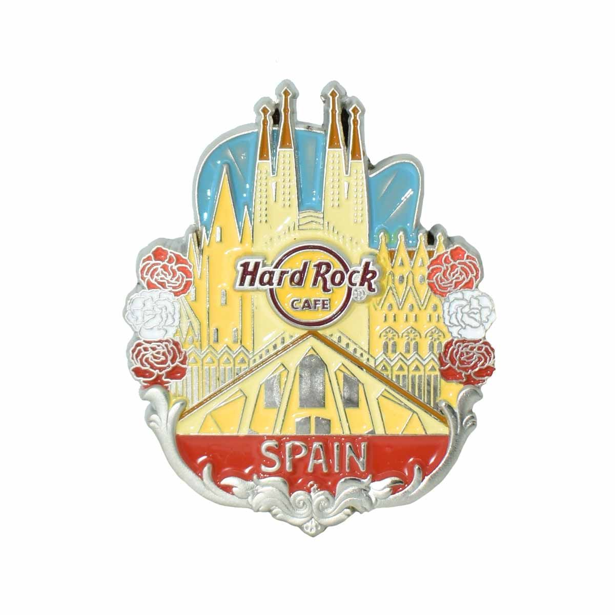 3D Country Icon Pin Spain