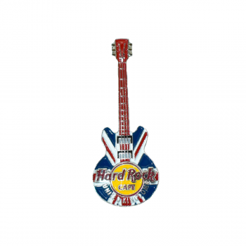 3D Country Flag Guitar Pin UK