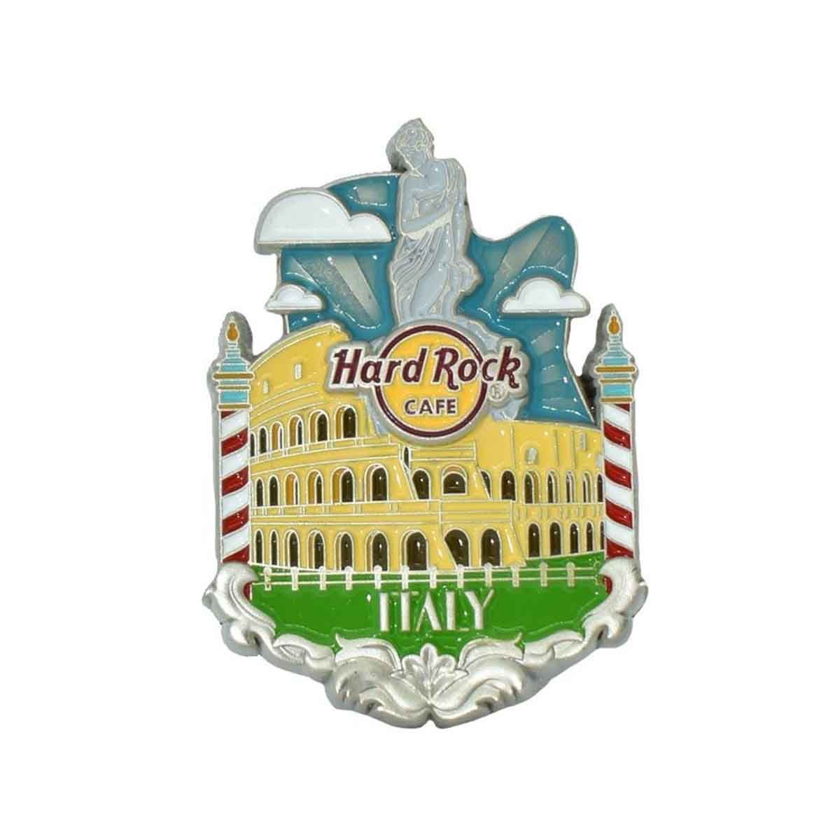 3D Country Icon Pin Italy