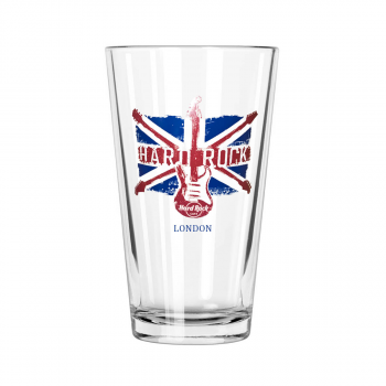 Union Jack Pint Glass