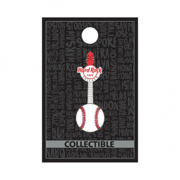 Chicago Baseball Guitar Pin
