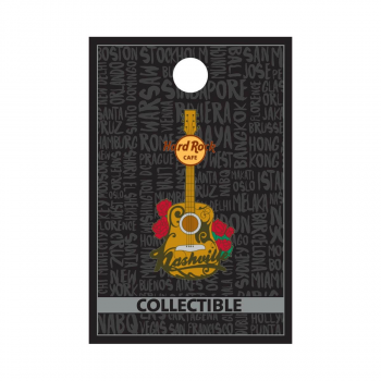Nashville Acoustic Guitar Pin