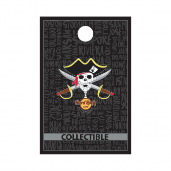 Pittsburgh Baseball Skull Pin