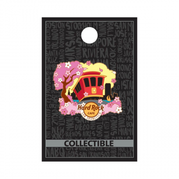 San Francisco Cherry Blossom Pin
