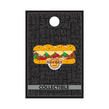 Philadelphia Cheesesteak Pin