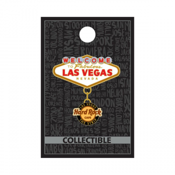 Las Vegas Welcome to Las Vegas Pin