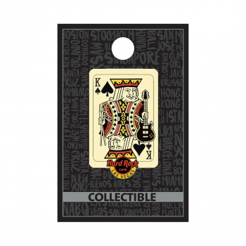Las Vegas King of Spades Pin